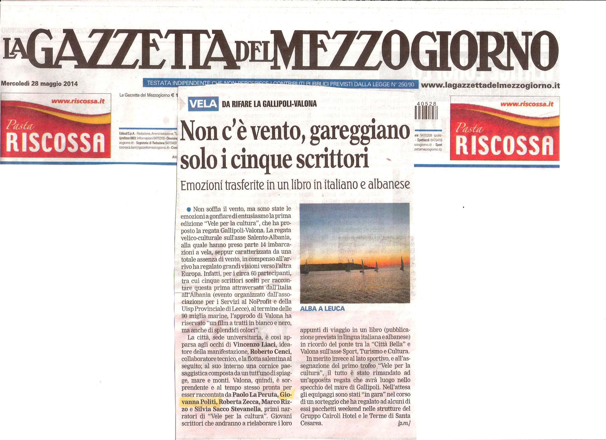 la Gazzetta 14 maggio 2014